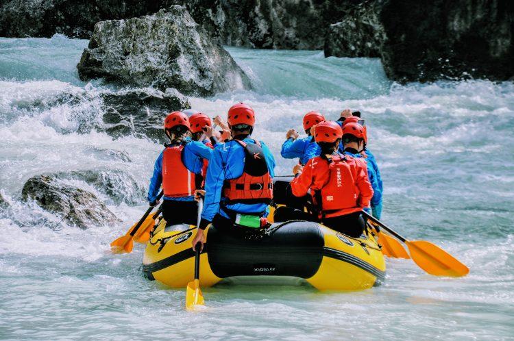 rafting zgornji del