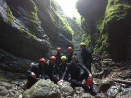 canyoning kozjak